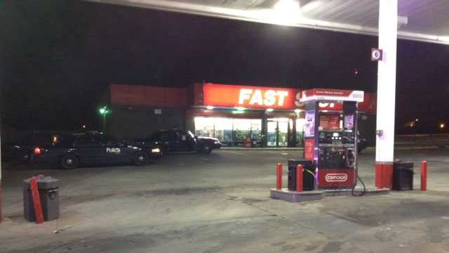 Fast Stop robbery, 75th, Wornall