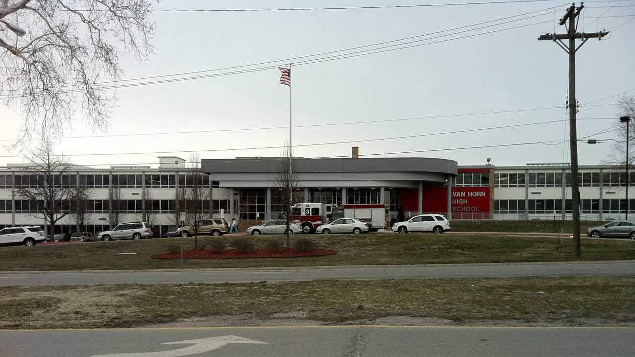 Van Horn High School fire