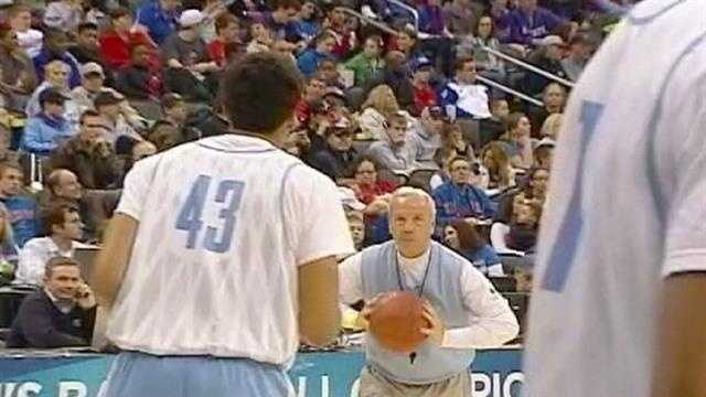 Roy Williams during practice