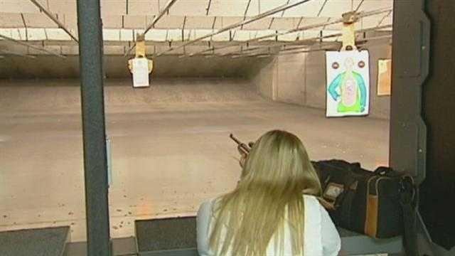 Image shooting range, guns