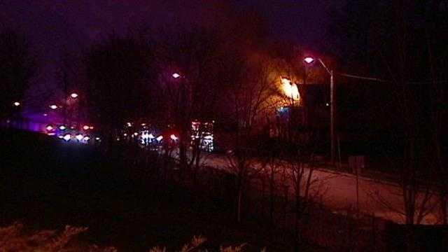 House fire 2900 block of Euclid Avenue