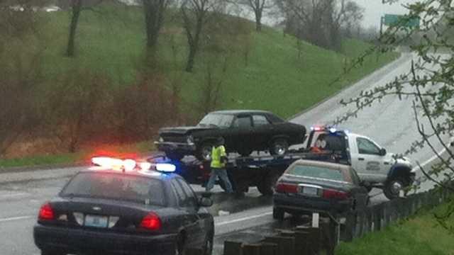 Image Pedestrian hit on US 71