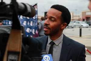 "Andre Holland, who plays Wendell Smith in ""42"""