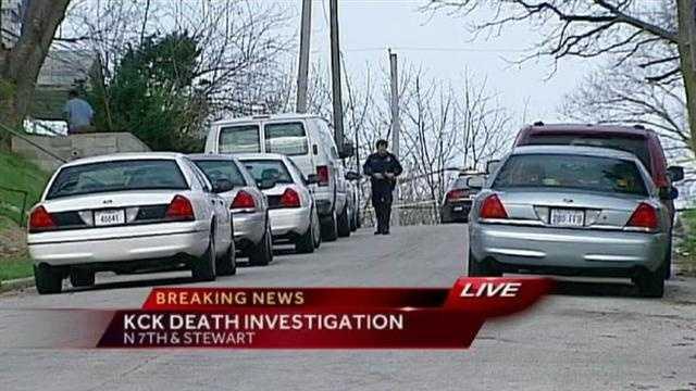 Man found dead inside a van on Stewart Avenue in KCK