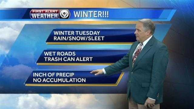 Tuesday weather highlights