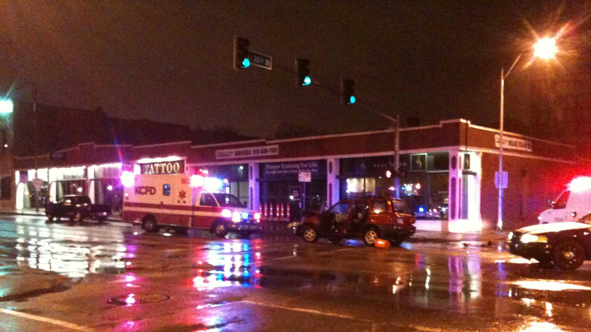 20th, Main car accident