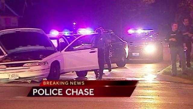 Image Police chase scene