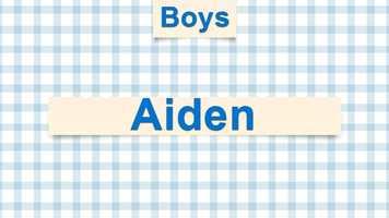 10) Aiden