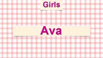 5) Ava