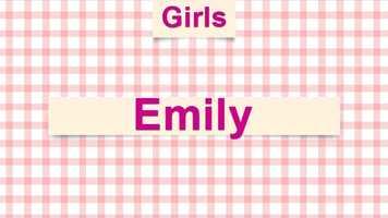6) Emily