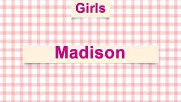 9) Madison
