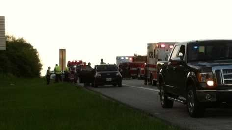 Deadly motorcycle crash shuts down Kansas City highway