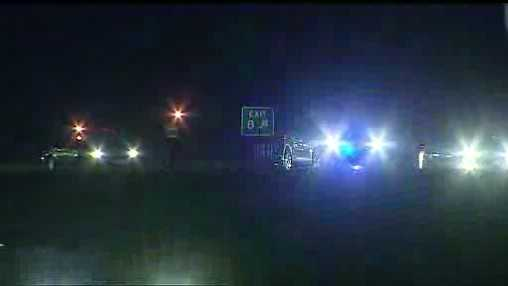 Pedestrian hit at I-29, Barry Road