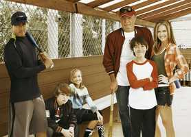 """Back in the Game airs Wednesdays at 8:30 p.m. starting September 25.Terry Gannon Jr. (Maggie Lawson) was an All Star softball player until life threw her a few curve balls -- a baby, a lost college scholarship and a loser for a husband. After striking out on her own, Terry and her son, Danny (Griffin Gluck), move in with her estranged father, Terry Sr., aka """"The Cannon"""" (James Caan). The Cannon is an opinionated, beer-guzzling, ex-athlete who never quite made the cut either as a single father or professional baseball player. As hard as Terry tries to keep Danny away from the sports-driven lifestyle of her youth, Tommy wants to play Little League. His stunning lack of baseball skills (he doesn't even know which hand the mitt goes on) makes him the laughing stock of the baseball field and of his grandfather's living room. When Danny and a group of other athletically-challenged hopefuls fail to make the team, Danny's disappointment forces Terry to face her past. So when a wealthy neighbor volunteers to finance a team for the rejected kids, Terry reluctantly offers to coach the team of misfits.""""Back in the Game"""" stars Maggie Lawson (""""Psych"""") as Terry, Jr., James Caan (""""Las Vegas"""") as Terry """"The Cannon"""" Gannon, Sr., Lenora Crichlow (""""Being Human,"""" """"Fast Girls"""") as Gigi, Griffin Gluck (""""Private Practice"""") as Danny, Ben Koldyke (""""Big Love"""") as Dick, Kennedy Waite (""""I-Doll"""") as Vanessa, J.J. Totah (""""Jessie"""") as Michael and Cooper Roth as David."""
