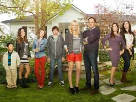 """""""Trophy Wife"""" will air Tuesdays at 8:30 p.m. starting Sept. 24. Learn more on FacebookThey say the third time's the charm, and reformed party girl Kate (Malin Akerman) is hoping that's true when she becomes Pete's (Bradley Whitford) third wife. She fell into his arms (literally) at a karaoke bar, and a year later Kate's got an insta-family, complete with three stepchildren and two ex-wives. Diane (Marcia Gay Harden) is ex-wife number one, an intense, over-achieving doctor and the mother of twin teenagers Hillary (Gianna LePera) and Warren (Ryan Scott Lee). Diane is quick to convey her withering disapproval of Kate's barely tapped maternal instinct. Ex-wife number two, Jackie (Michaela Watkins), is mother to adopted son Bert (Albert Tsai), and can pull Pete's strings with her special blend of neurotic, new-ageyness. Juggling all this baggage is uncharted territory for Kate, who finds support with her best friend Meg (Natalie Morales), a party-hearty singleton and the only woman Kate knows who has less experience with kids than she has.""""Trophy Wife"""" stars Malin Akerman (""""Suburgatory"""") as Kate, Bradley Whitford (""""The West Wing"""") as Pete, Marcia Gay Harden (""""Into the Wild,"""" """"Damages"""") as Diane, Michaela Watkins (""""Saturday Night Live"""") as Jackie, Natalie Morales (""""90210"""") as Meg, Ryan Scott Lee (""""Super 8"""") as Warren, Albert Tsai (""""How I Met Your Mother"""") as Bert and Gianna LePera (""""Modern Family"""") as Hillary."""