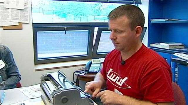 'Braille boot camp' helps open lines of communication