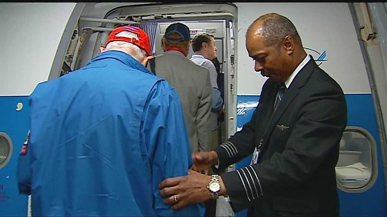Honor Flight sends WWII veterans on journey of gratitude