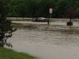 Flooding at Indian Creek Parkway