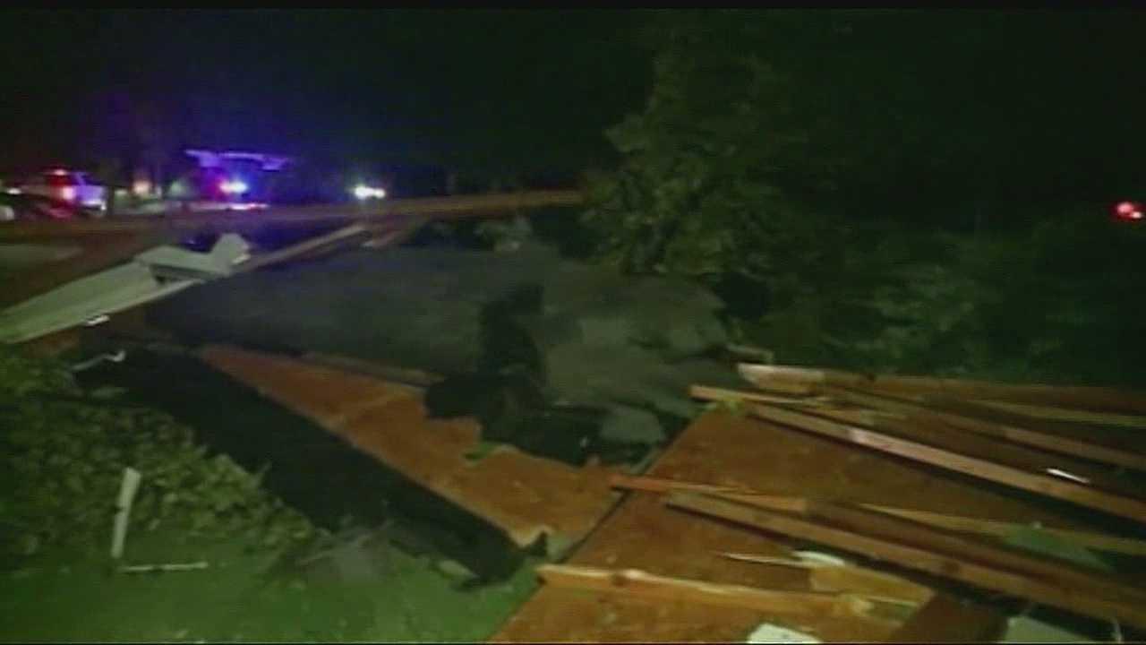 Missouri storm damage, Weldon Springs
