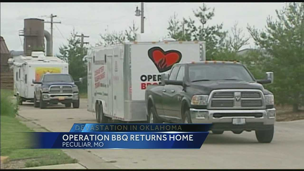 KC BBQ teams return from mission to Oklahoma