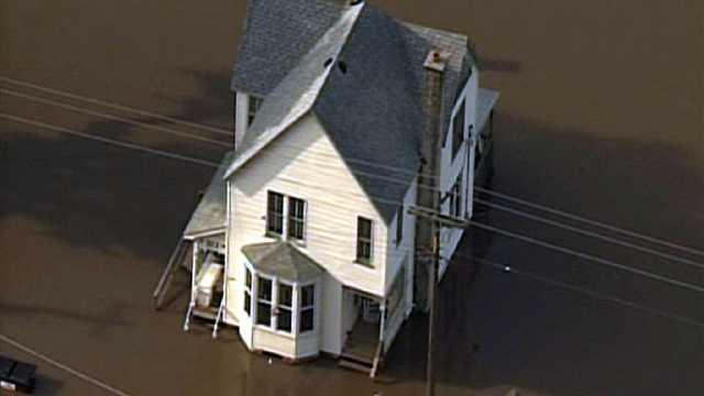 Flooding on Missouri River