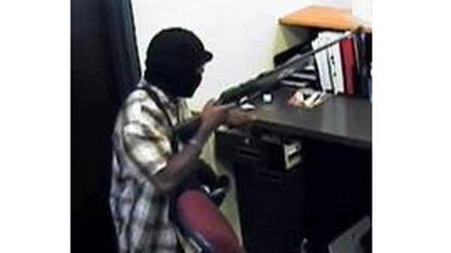 Arvest bank robbery