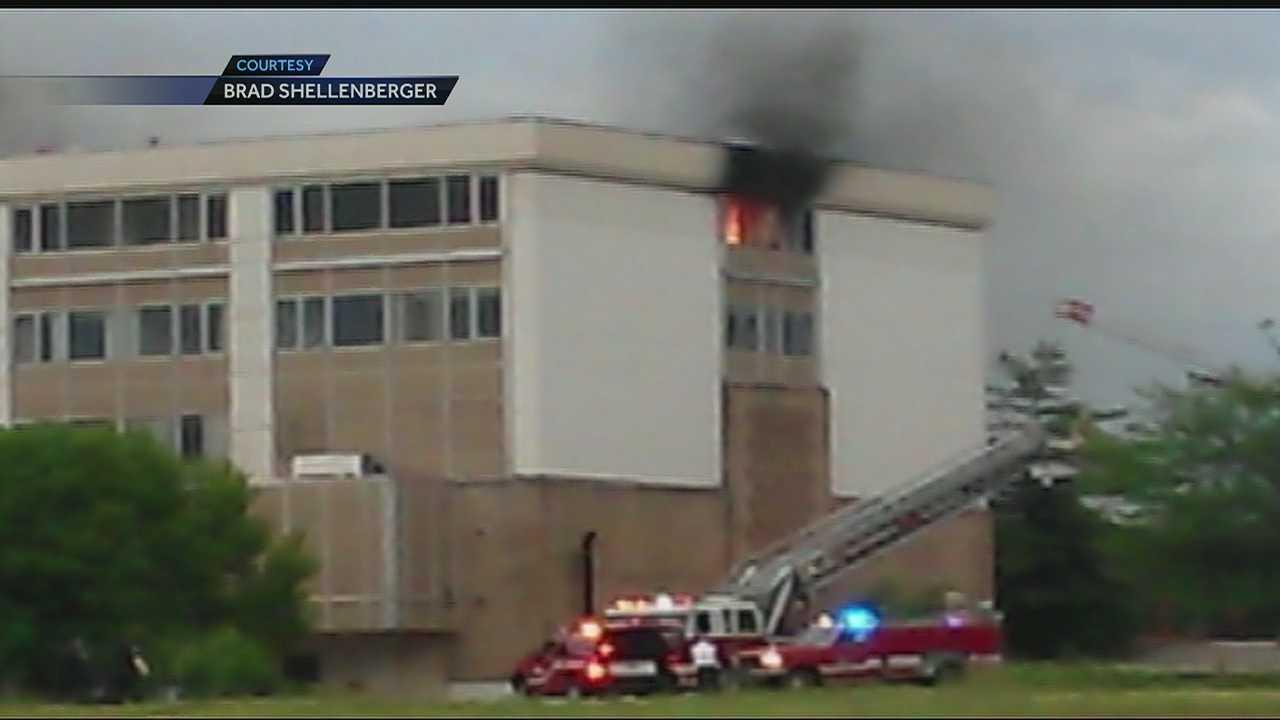 Image MCI Hospital fire