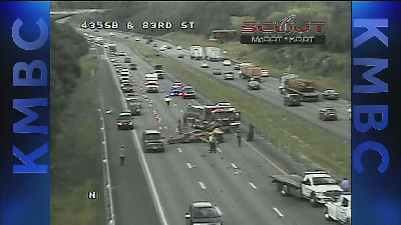 Image Wreck on I-435