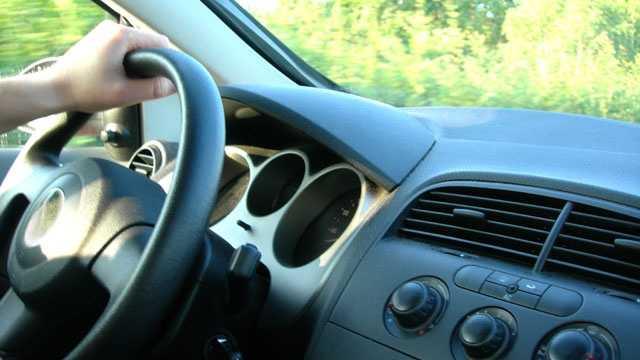 Image Generic driving - steering wheel