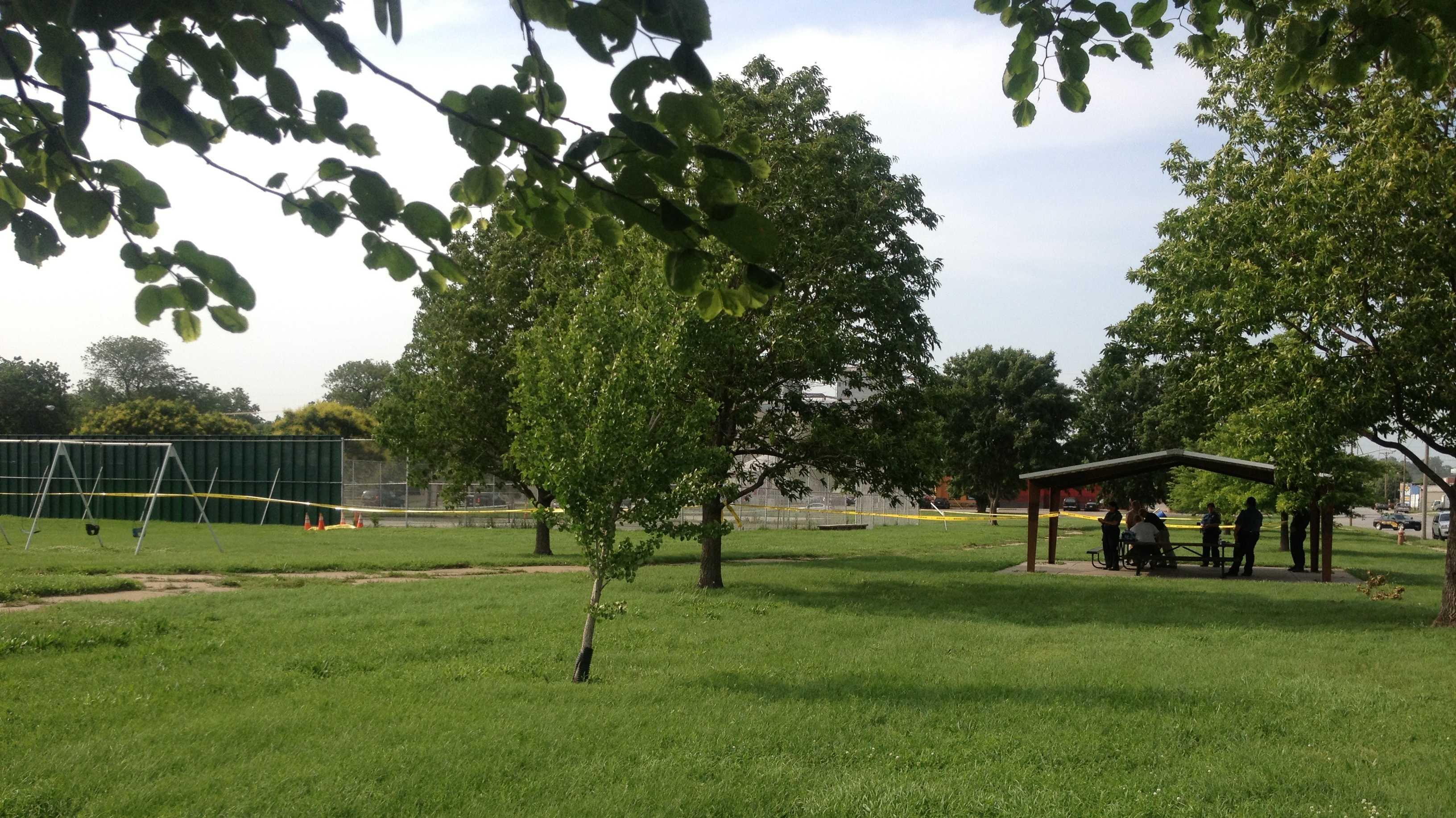 Woman found dead in KCK park