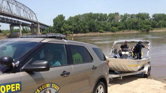Drowning search near Sugar Creek