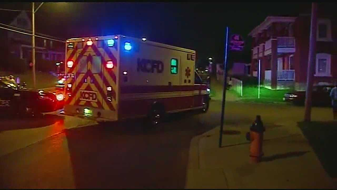 Image 9 people shot in KC