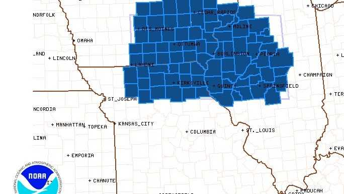 Severe thunderstorm watch in effect until 7 p.m.