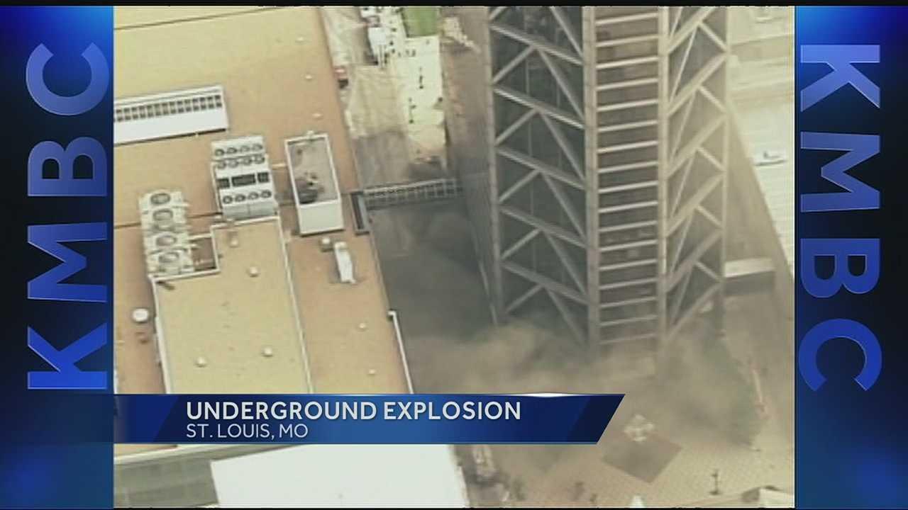 St. Louis underground fire