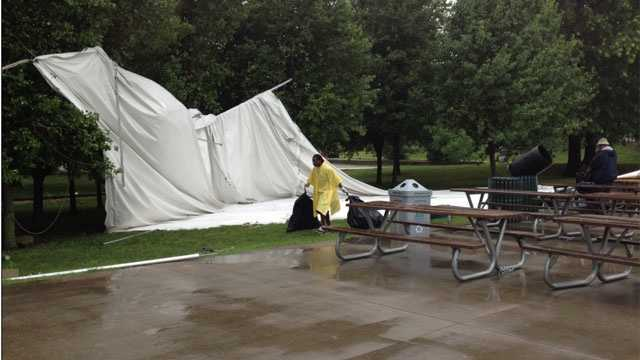 Image Swope park tent collapse