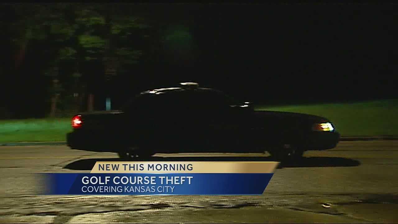 Swope Memorial Golf Course theft
