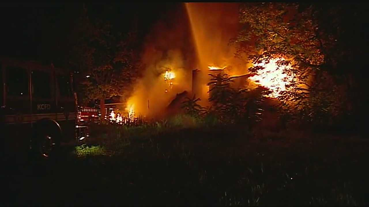Image Northeast KC house fire