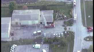 Olathe warehouse fire