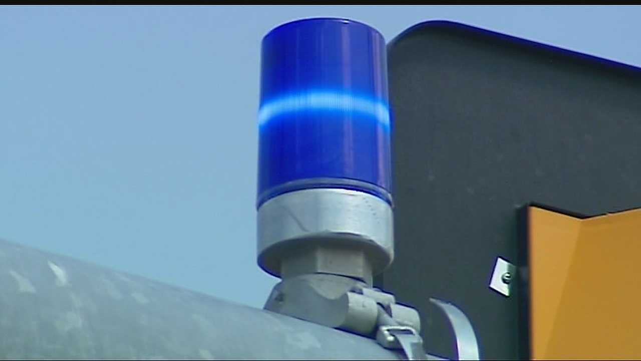 Image Traffic control blue light in Overland Park
