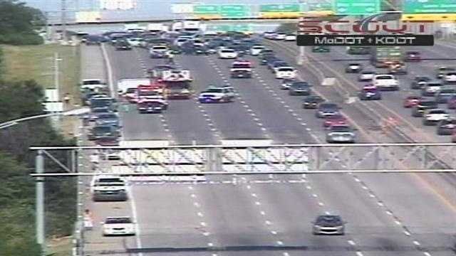Accident on I-435 at 103rd