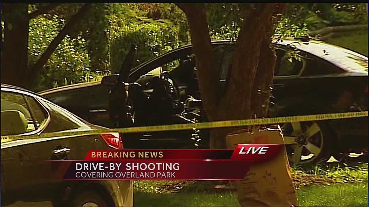 Overland Park drive-by shooting leaves one dead