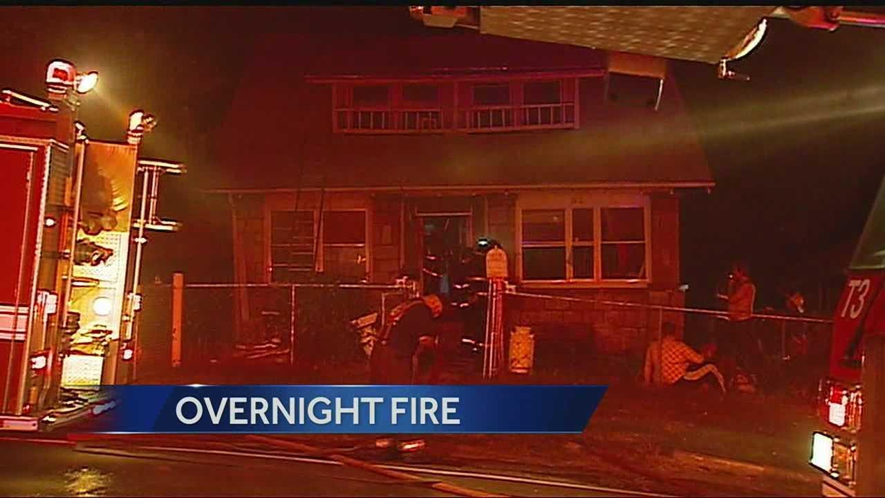 House fire, 500 block of Blue Ridge Boulevard