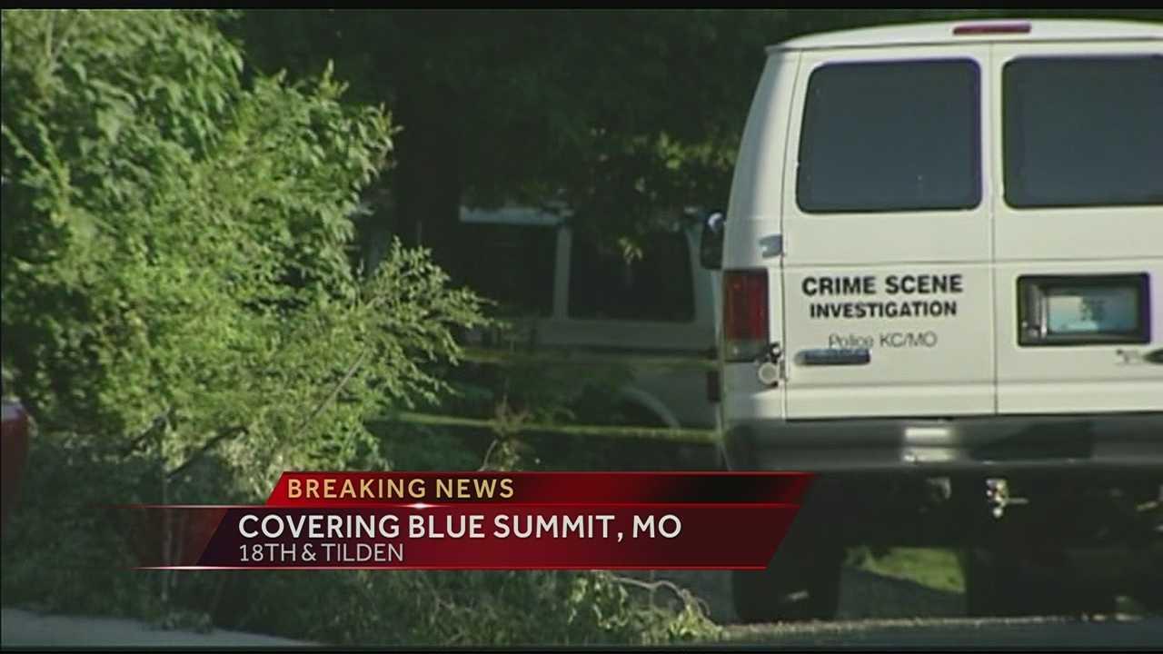 Person taken into custody in Blue Summit homicide case