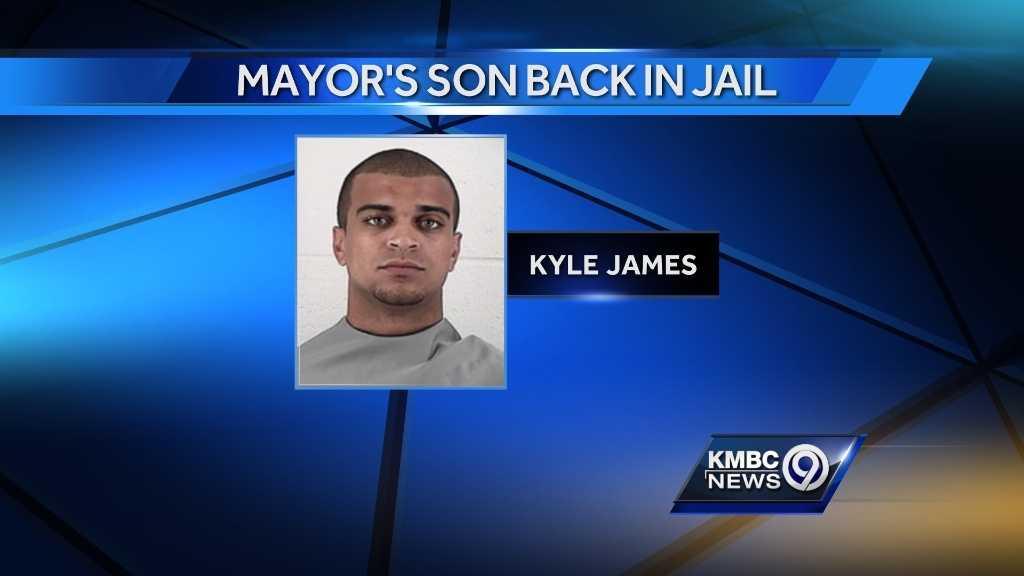 Image Kyle James jailed again