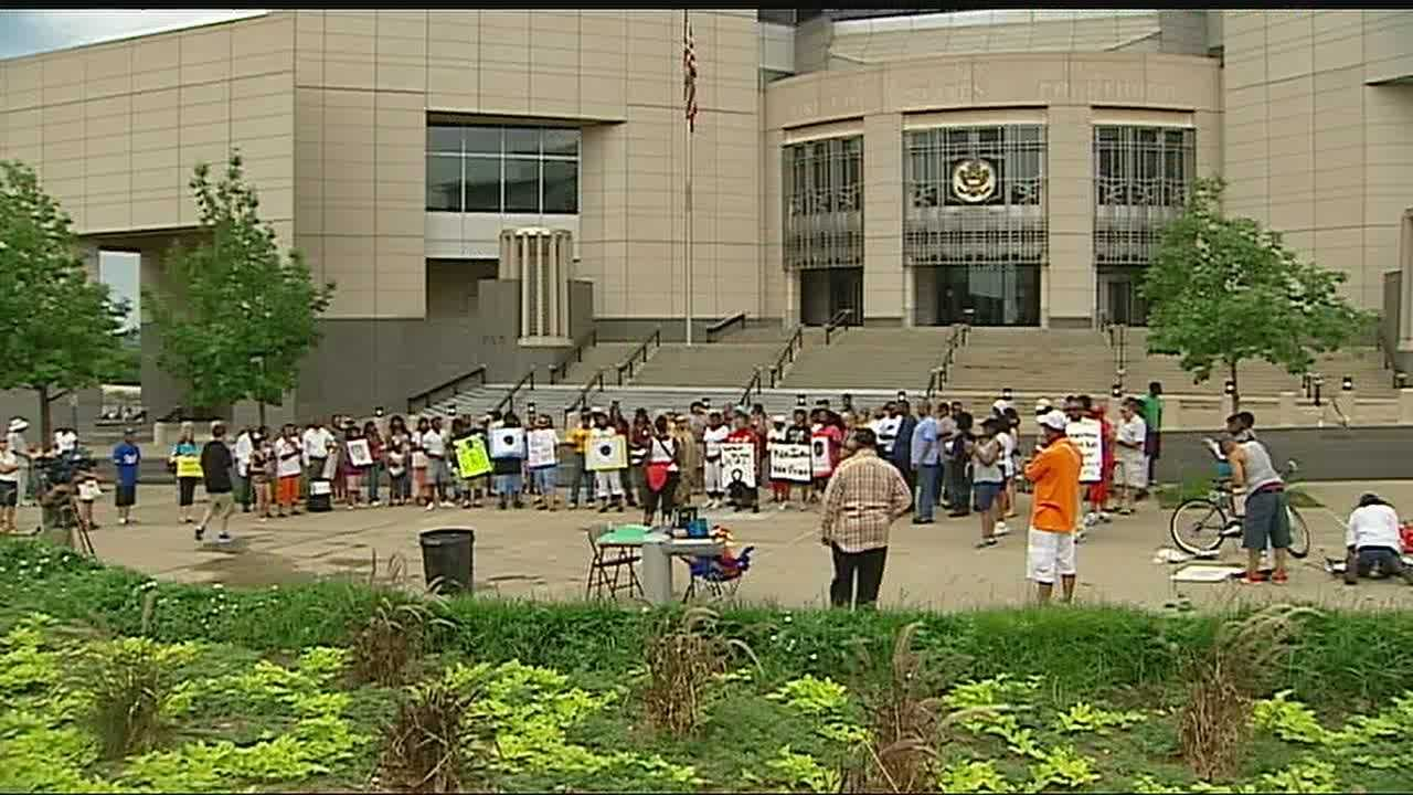 Justic for Trayvon rally, KC