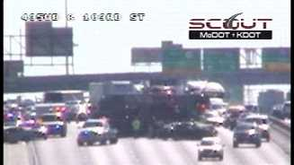 I-435, 103rd Street wreck