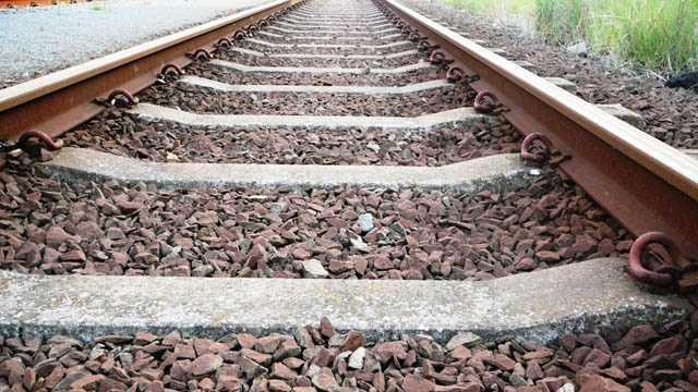 Train, railroad tracks generic