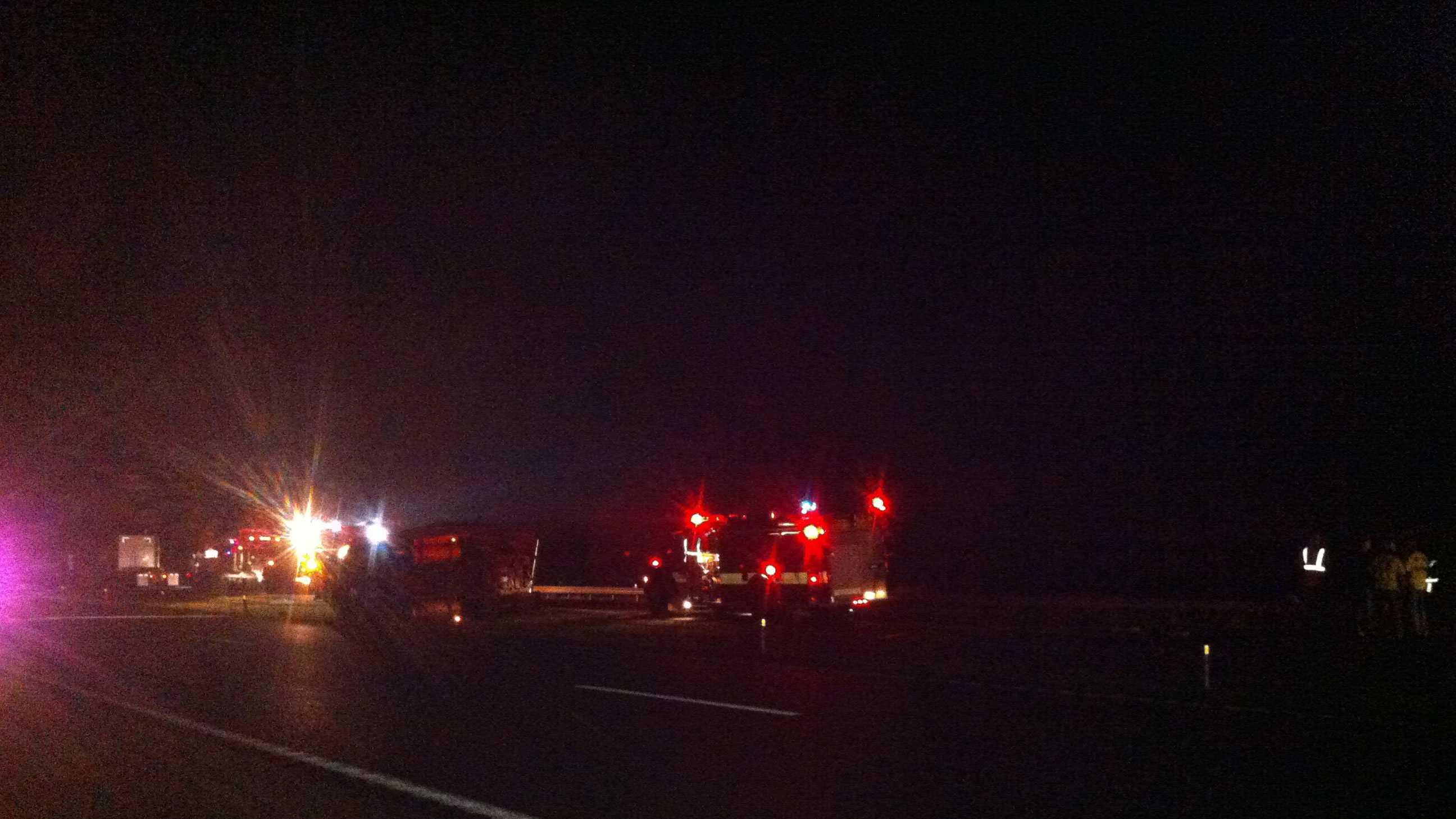 I-29 wreck near Faucett