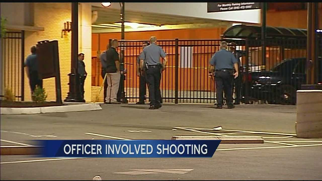 KCPD officer kills man during downtown foot chase