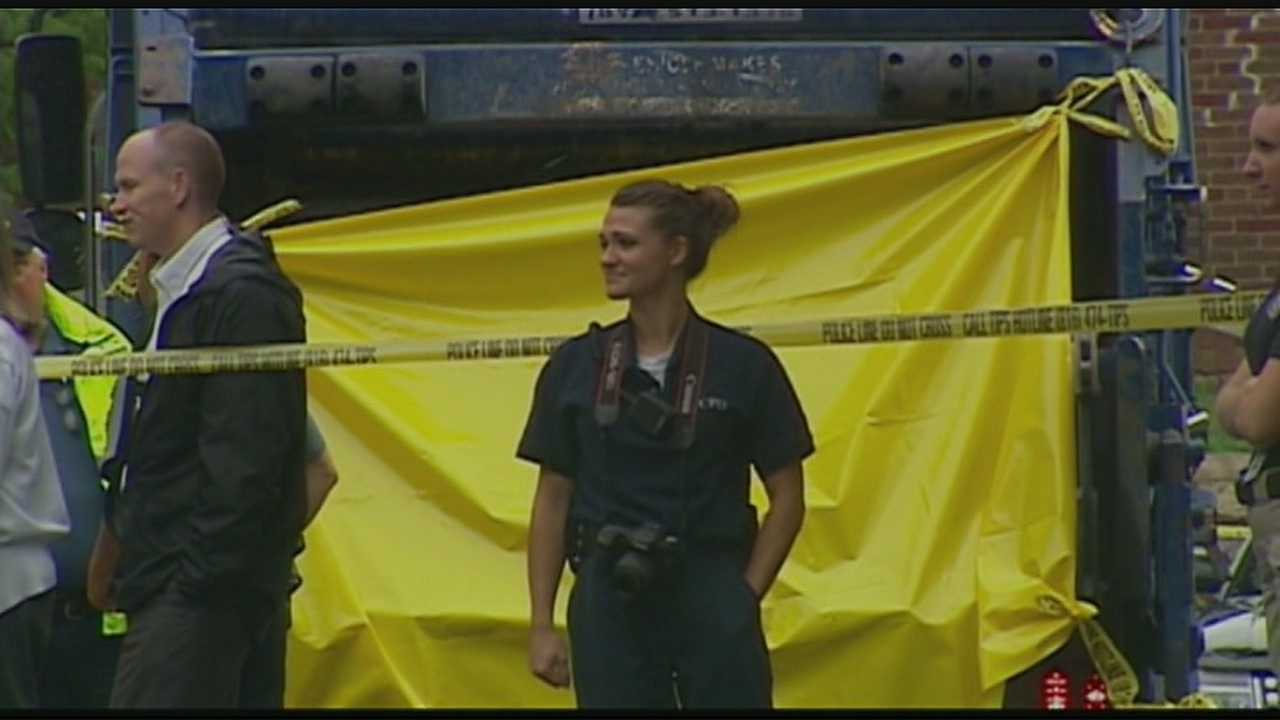 body found in back of KC trash truck
